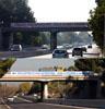 banderole pont autoroute gardanne