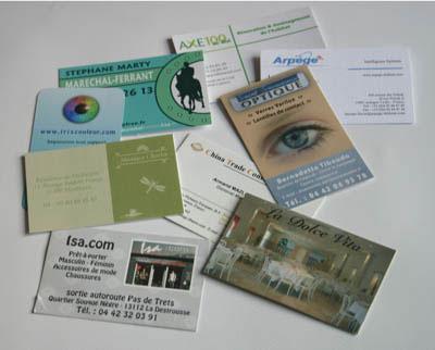 imprimeur cartes de visite dans le 13 marseille