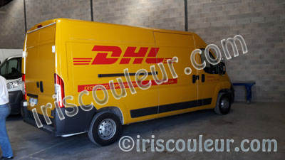 marquage-camion-dhl-fedex-chronopost-ups-tnt-covering-lettres-adhesives-peypin-marignane-rognac-vitrolles-marseille